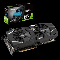 Видеокарта ASUS RTX2060 6Gb DUAL Advanced [DUAL-RTX2060-A6G] (90YV0CM2-M0NA00)