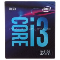 Процессор Intel Core i3-9100 BOX (3.6GHz/6Mb) LGA1151v2 [BX80684I39100 S RCZV]