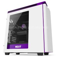 Корпус NZXT H440 WHITE-PURPPLE [CA-H442W-W2]