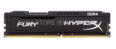 Память DDR4 16Gb 3200MHz Kingston HyperX FURY Black Series CL18 [HX432C18FB/16]
