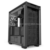 Корпус NZXT H700I Black-Blue [CA-H700W-BB]