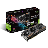 Видеокарта ASUS GTX1060 6Gb STRIX GAMING (192bit GDDR5 1506/1746Mhz) [STRIX-GTX1060-6G-GAMING]