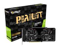 Видеокарта Palit GTX 1660 SUPER 6GB GAMING PRO OC [NE6166SS18J9-1160A] PA-GTX1660SUPER GP OC 6G
