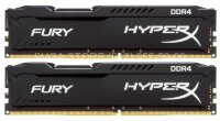 Память DDR4 32Gb KIT (16GbX2) 2400MHz Kingston HyperX FURY Black Series CL15 [HX424C15FBK2/32]