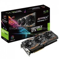 Видеокарта ASUS GTX1060 6Gb STRIX GAMING OC (192bit GDDR5 1620/1873Mhz) [STRIX-GTX1060-O6G-GAMING]