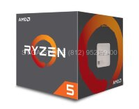 Процессор AMD RYZEN 5 2400G SAM4 BOX [YD2400C5FBBOX]