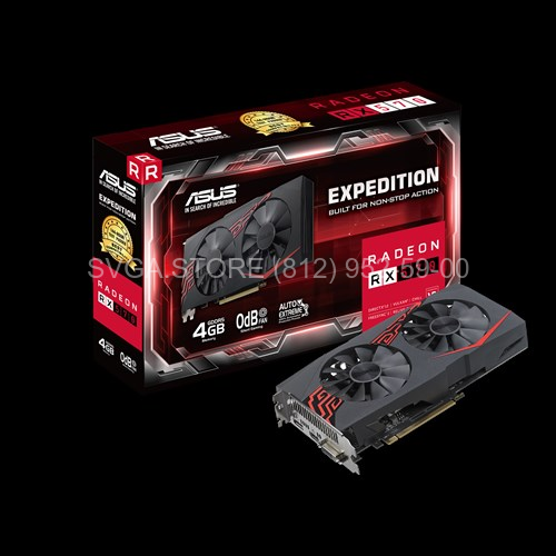 Видеокарта Asus RX570 4Gb Expedition [EX-RX570-4G]