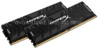 Память DDR4 16Gb KIT (8GbX2) 3600MHz Kingston HyperX PREDATOR Black Series CL17 [HX436C17PB3K2/16]