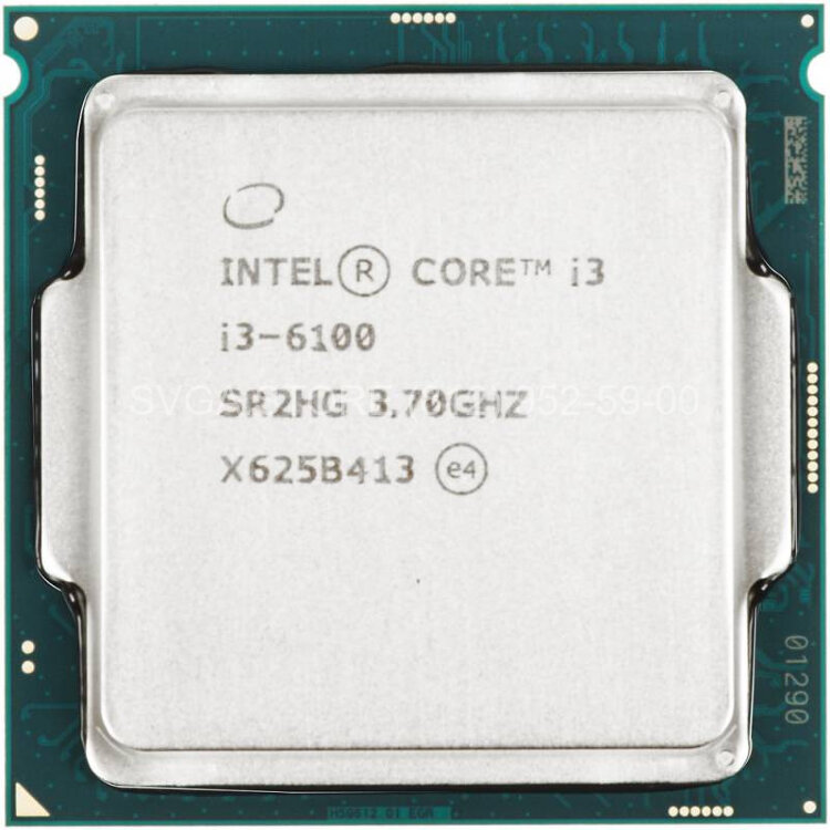 Процессор Intel Core i3-6100 OEM (3.70Ghz/3Mb) LGA1151 [CM8066201927202 S R2HG]