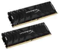 Память DDR4 16Gb KIT (2x8Gb) 3000Mhz PC24000 KINGSTON HYPER-X Predator Black CL15 [HX430C15PB3K2/16]