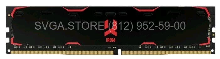 Память DDR4 4Gb 2133MHz Goodram IRDM CL15 SingleRank [IR-2133D464L15S/4G] with radiator