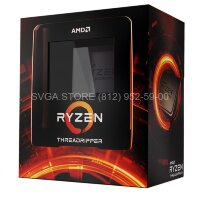 Процессор AMD Ryzen Threadripper 3990X TRX4 BOX [100-100000163WOF]