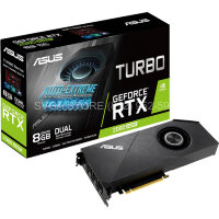 Видеокарта ASUS RTX 2080 SUPER 8Gb TURBO EVO [TURBO-RTX2080S-8G-EVO]