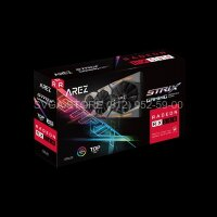 Видеокарта ASUS RX580 8Gb Arez Strix TOP Gaming [AREZ-STRIX-RX580-T8G-GAMING]