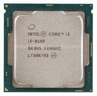 Процессор Intel Core i3-8100 OEM (3.60Ghz/6Mb) LGA1151v2 [CM8068403377308 S R3N5]