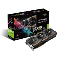 Видеокарта Asus GTX1070 8Gb STRIX GAMING (256bit GDDR5 1531/1721Mhz) [ROG STRIX-GTX1070-8G-GAMING]