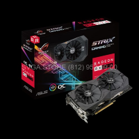 Видеокарта Asus ROG RX570 8Gb STRIX GAMING [ROG-STRIX-RX570-O8G-GAMING]
