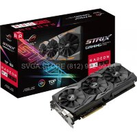 Видеокарта ASUS ROG Radeon RX580 STRIX TOP GAMING 8gb (256bit GDDR5 1411/1431Mhz) [ROG-STRIX-RX580-T8G-GAMING]