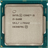 Процессор Intel Core i5-6400 (2.70Ghz/6Mb) LGA1151 tray [CM8066201920506SR2L7]