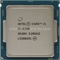 Процессор Intel Core i5-6500 (3.20Ghz/6Mb) LGA1151 tray [CM8066201920404 S R2L6]
