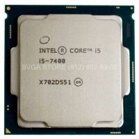Процессор Intel Core i5-7400 (3.0Ghz/6Mb) LGA1151 tray [CM8067702867050SR32W]