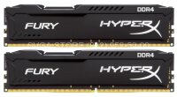 Память DDR4 16Gb KIT (8GbX2) 2400MHz HyperX FURY Black Series Kingston CL15 [HX424C15FB2K2/16]