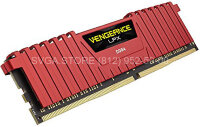 Память DDR4 4Gb 2400MHz Corsair CL14 [CMK4GX4M1A2400C14R] VENGEANCE RED