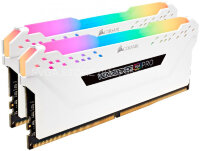Память DDR4 16Gb KIT (2x8Gb) 3000MHz Corsair VENGEANCE RGB PRO WHITE CL15 [CMW16GX4M2C3000C15W]