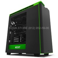 "Корпус NZXT H440 ""New EDITION"" black/green [CA-H442W-M9]"