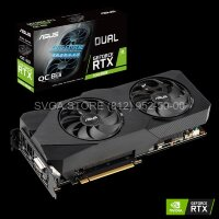 Видеокарта ASUS RTX 2060 SUPER 8Gb DUAL Advanced OC EVO [DUAL-RTX2060S-O8G-EVO-V2]