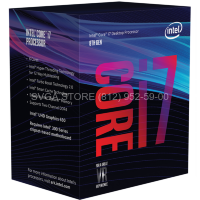 Процессор Intel Core i7-8700K BOX (3.70Ghz/12Mb) LGA1151v2 [BX80684I78700KS]