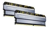 Память DDR4 16Gb (2x8Gb kit) 2400MHz PC4-19200 G.SKILL SNIPER X CL17 1.2V [F4-2400C17D-16GSXK] Digital Camo