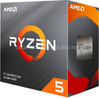 Процессор AMD RYZEN 5 3500 AM4 BOX (3.6G) [100-000000050BOX]