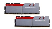 Память DDR4 16Gb (2x8Gb kit) 3200MHz PC4-25600 G.SKILL TRIDENT Z CL14 1.35V [F4-3200C14D-16GTZ]