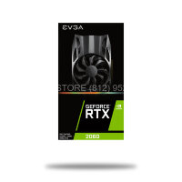 Видеокарта EVGA  RTX 2060 6Gb GAMING HDB Fan [06G-P4-2060-KR]