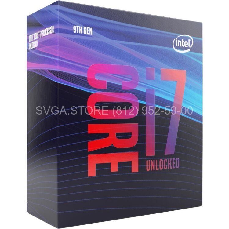 Процессор Intel Core i7-9700 BOX (3.0GHz/12Mb) LGA1151v2 [BX80684I79700SRG13]