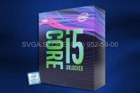 Процессор Intel Core i5-9600 BOX (3.1GHz/9Mb) LGA1151v2 [BX80684I59600 S RF4H]